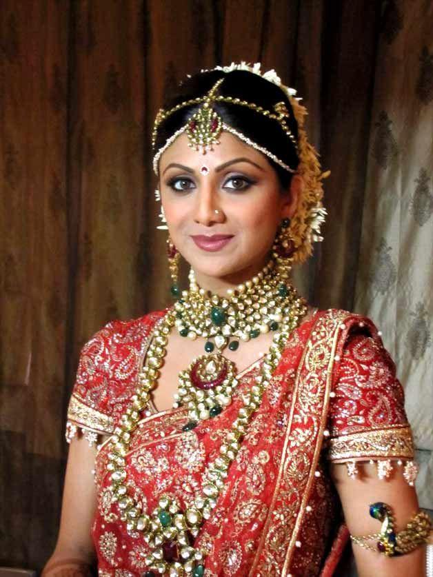 Bride Styling Ideas From Shilpa Shetty Celebrity Wedding Dresses