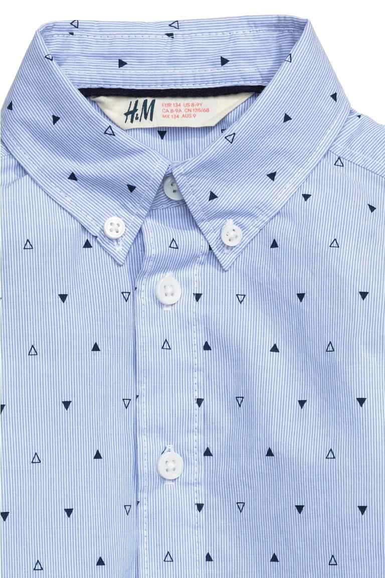 fe817b33dd Patterned cotton shirt in 2019