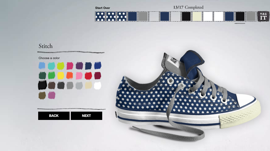 Create your own converse | Create your