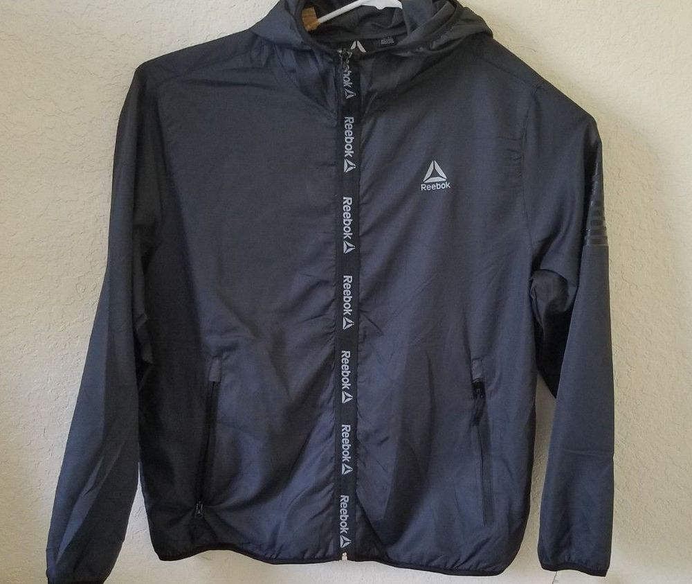 Reebok Mens Outerwear Jacket Crossfit
