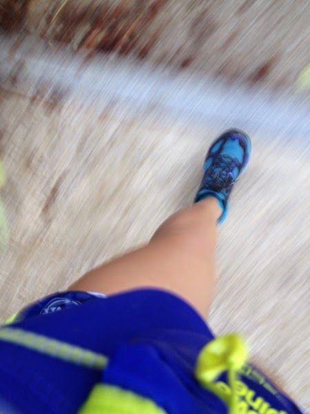 Running lovers: Carme de La vida en globo
