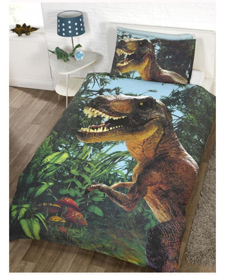 Jurassic Park T Rex Single Quilt Cover In 2019 Koolkidsbedding