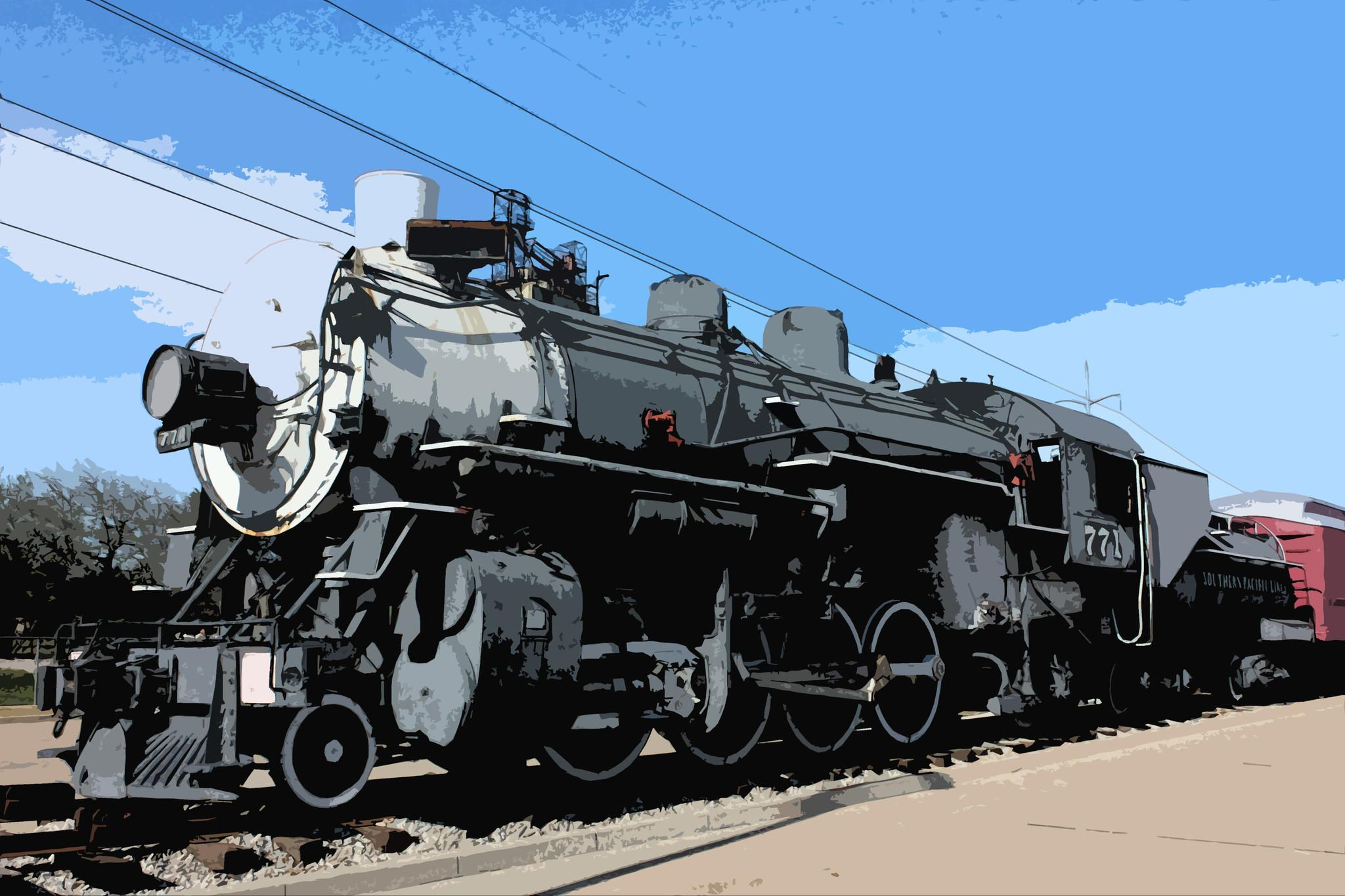 Vintage Train by Jason W. Crews on 500px