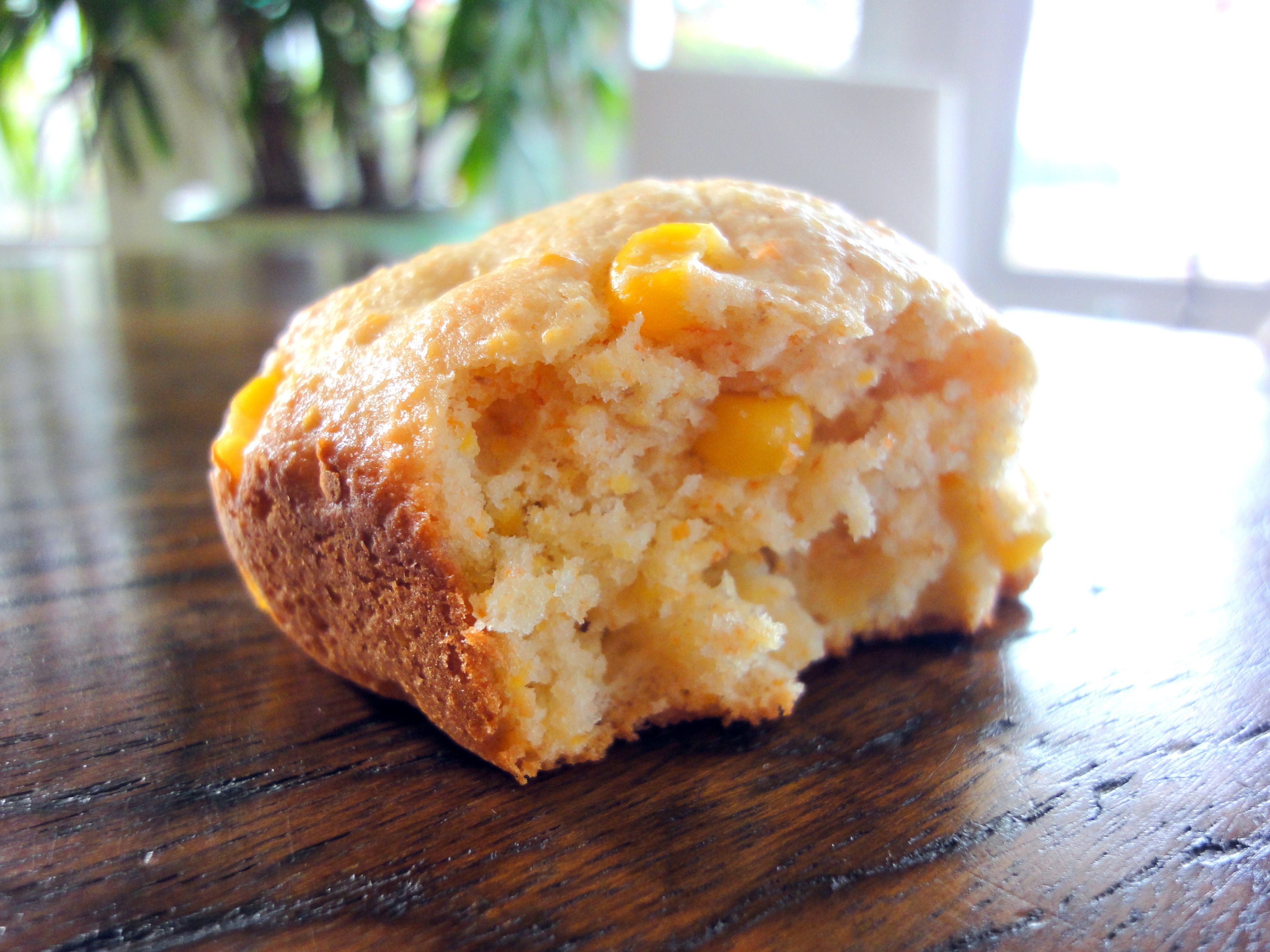 Delicious corn muffins with a tender crumb! The perfect comfort food.