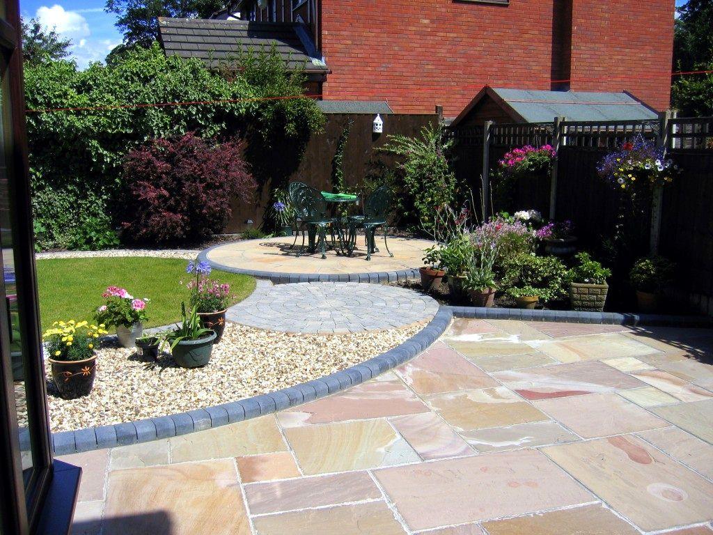 Small Garden Ideas Northern Ireland Rustic Garden Paving