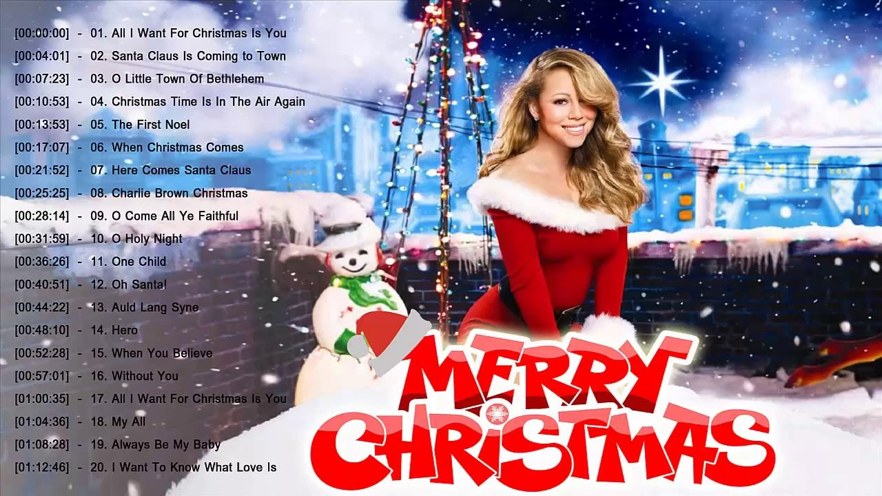 Mariah Carey Christmas Greatest Hits Mariah Carey Best Christmas Songs