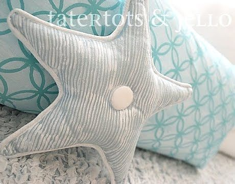 diy painting pillows...several designs completelycoastal.com