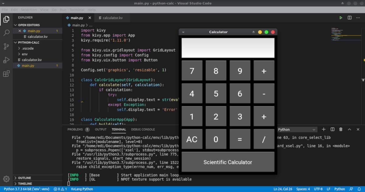 Membuat Aplikasi Android Dengan Python Aplikasi Android Linux Python