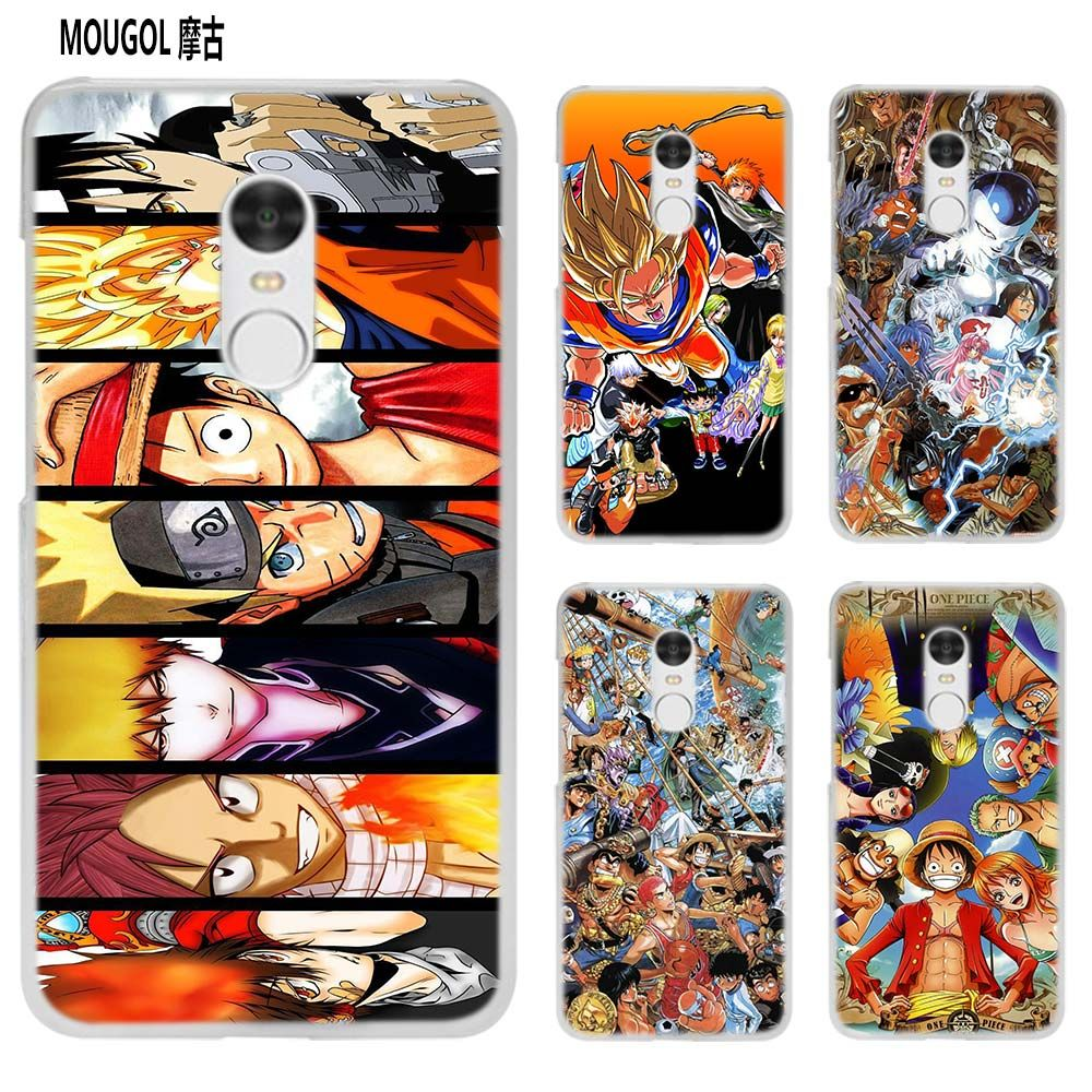 MOUGOL Japanese anime Collage transparent Case Cover Shell