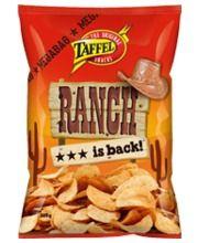 Taffel Ranch 325 g perunalastut, 2,65 e