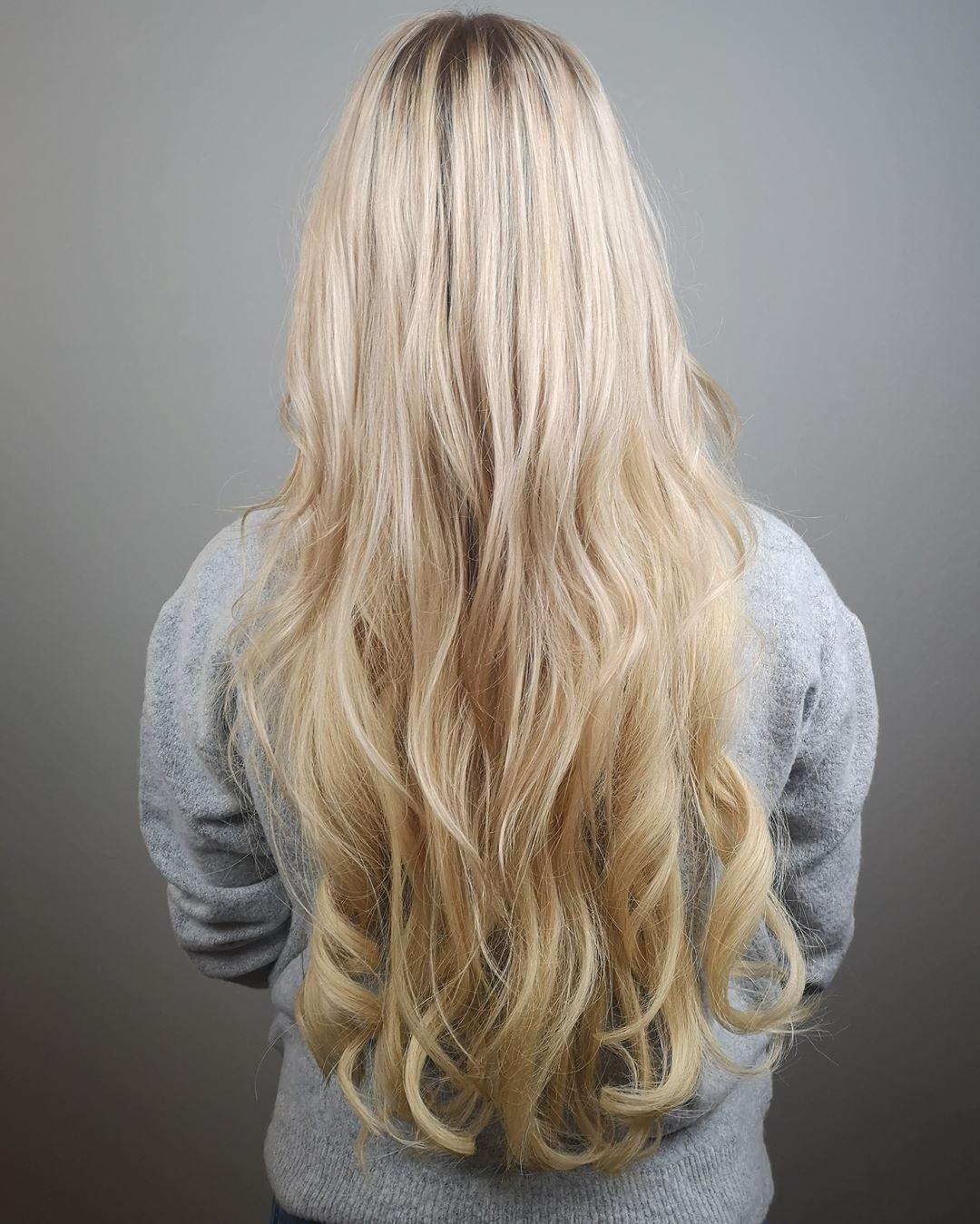 Get The Insta Look Auch Mal Ohne Stundenlangen Aufwand Aussehen Wie Die Beauties Von Insta Mit Echthaar Extensions Hairstyle Hair Styles Long Hair Styles