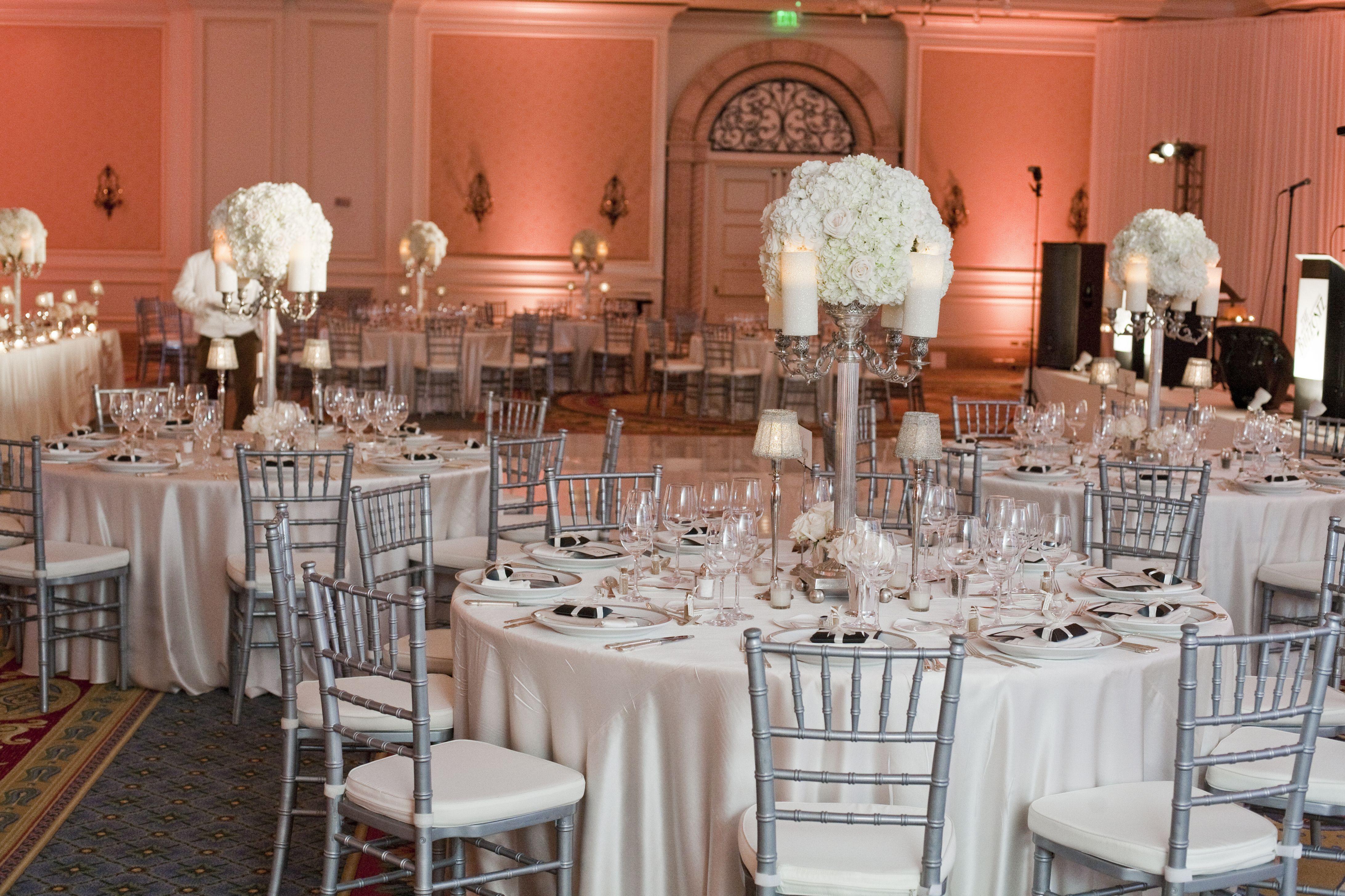 Tiffany Blue Wedding Chair Covers Personalized A Affair Inc Silver Chiavari Chairs At Ritz Carlton