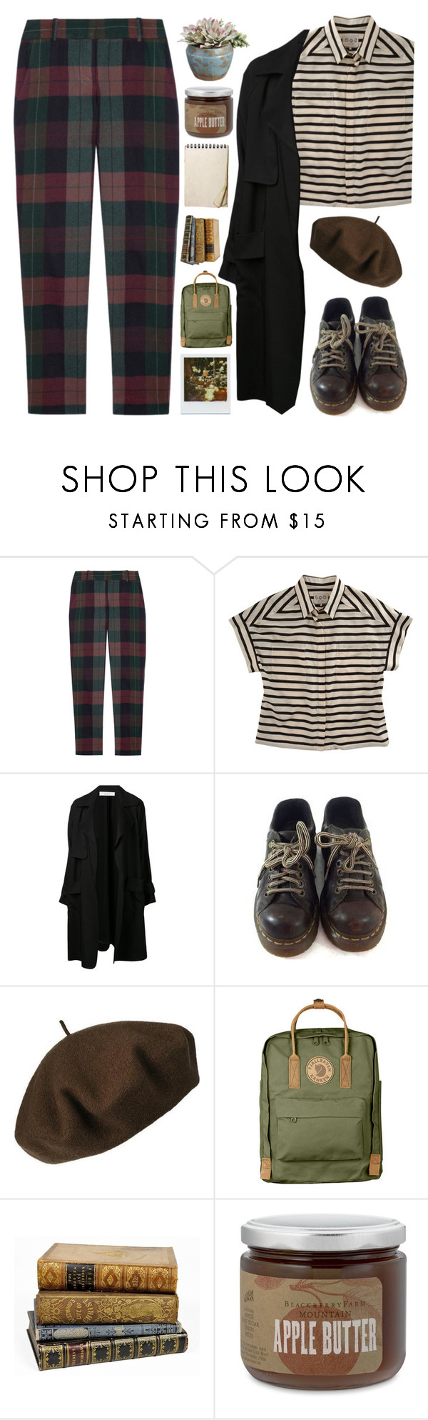 """It's My Birthday!"" by wi-fi-li-fe ❤ liked on Polyvore featuring Theory, Sea, New York, A.L.C., Dr. Martens, Betmar and Fjällräven"