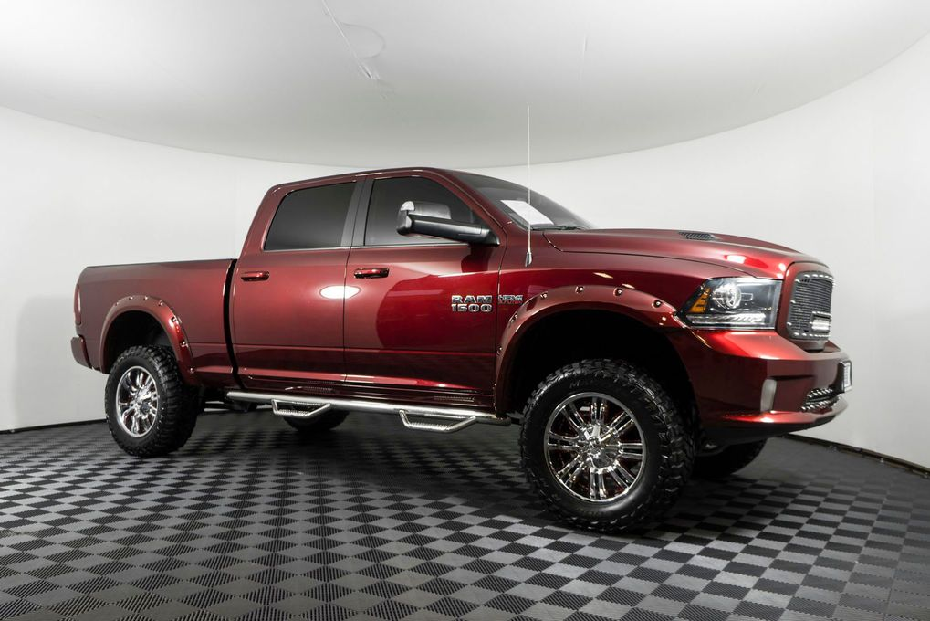 Used Lifted 2016 Dodge Ram 1500 Sport 4x4 With 12 526 At Northwest Motorsport In Pasco Wa Priced At 43 999 Buy Dodge Ram Dodge Ram 1500 4x4 Trucks For Sale