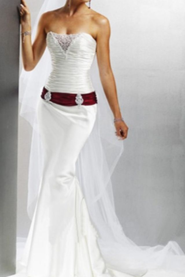 Concho belted wedding dress why not? | Wedding dresses