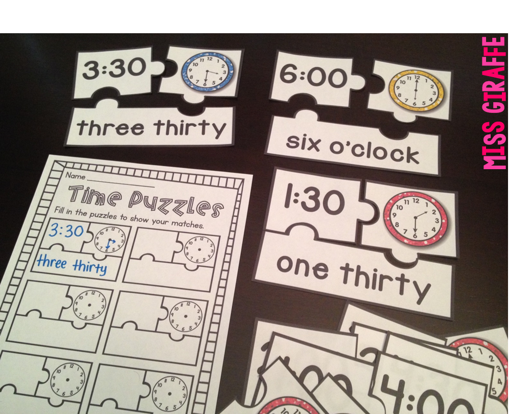 Telling Time In First Grade