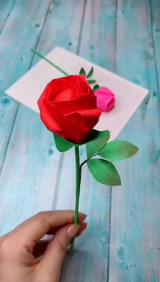 Photo of Diy Origami Flower – Rose Part 1