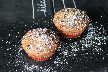 Apfel-Schoko-Muffins - Rezept