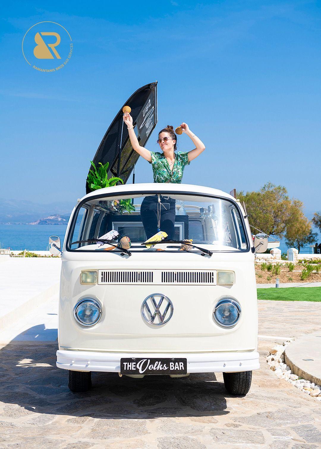 Van Bar For Wedding Theme Wedding In Greece Bar Services Ramantanis Bros Mobile Bar Volkswagen Models Bar Service