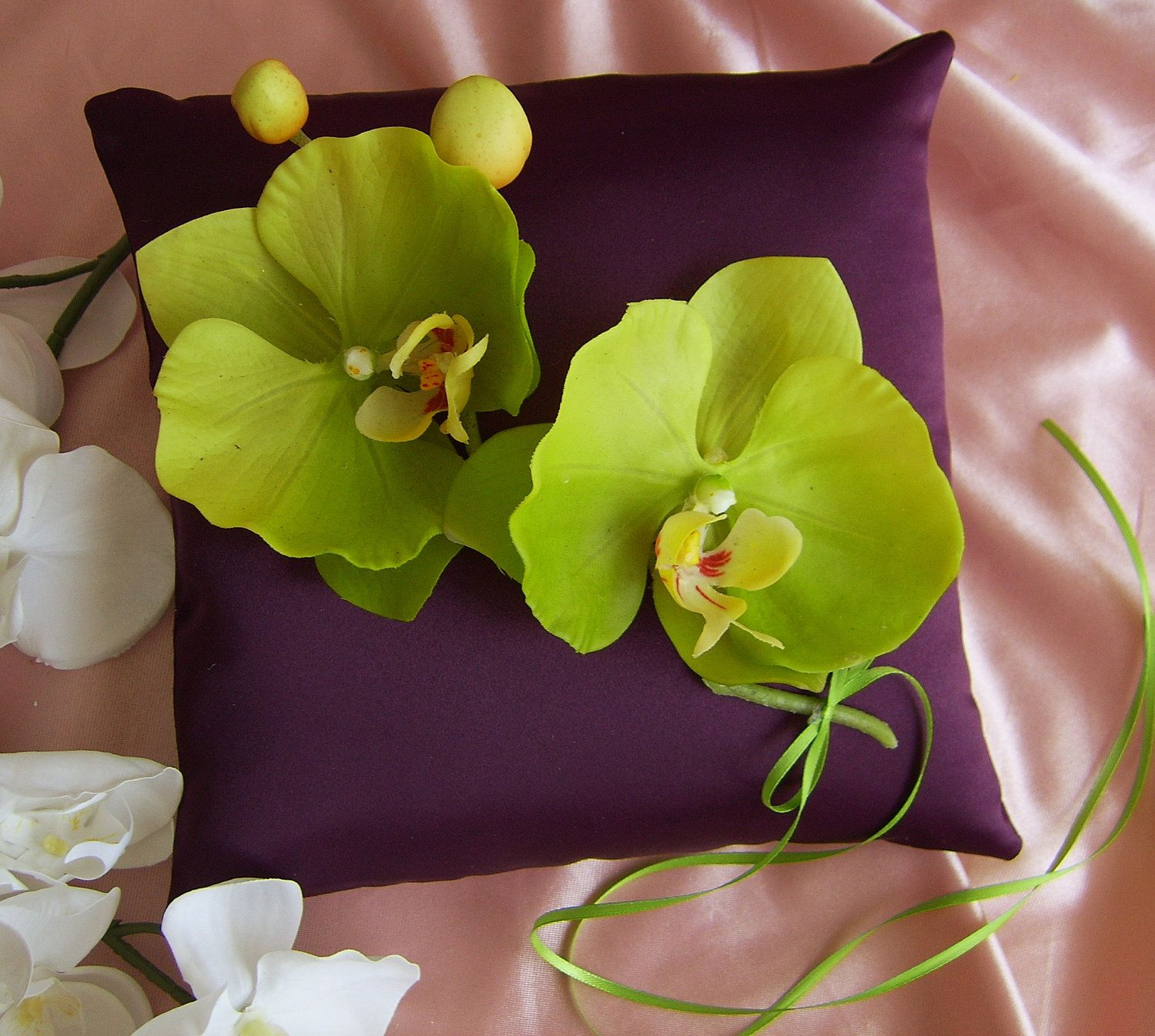 lime green and eggplant purple weddings google search