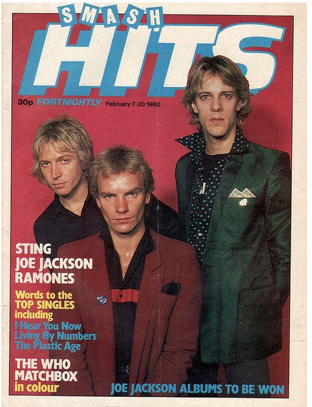21 Vintage Covers Of Smash Hits Magazine