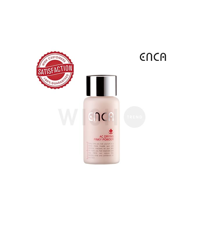 Enca Acne Drying Pinky Powder Pimple Clearing Treatment Acne Treatment Overnight Acne Control Simple Skincare