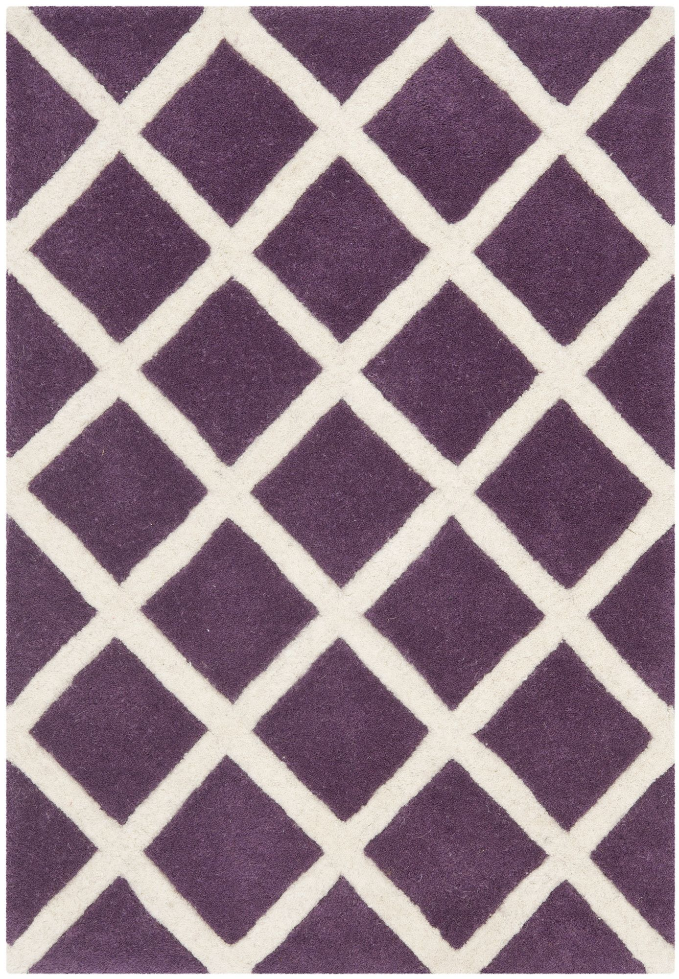 Purple Rugs With Geometric Patterns   Purple Bedroom Ideas