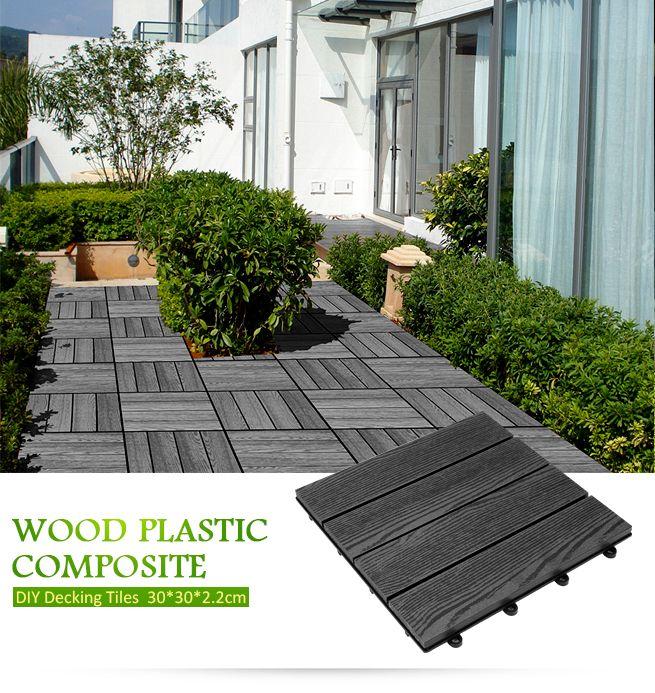 Decking Tiles Garden Timber Flooring