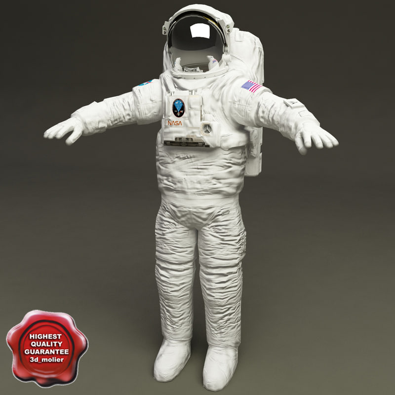 nasa space suit 3d model Nasa space suit, Space suit