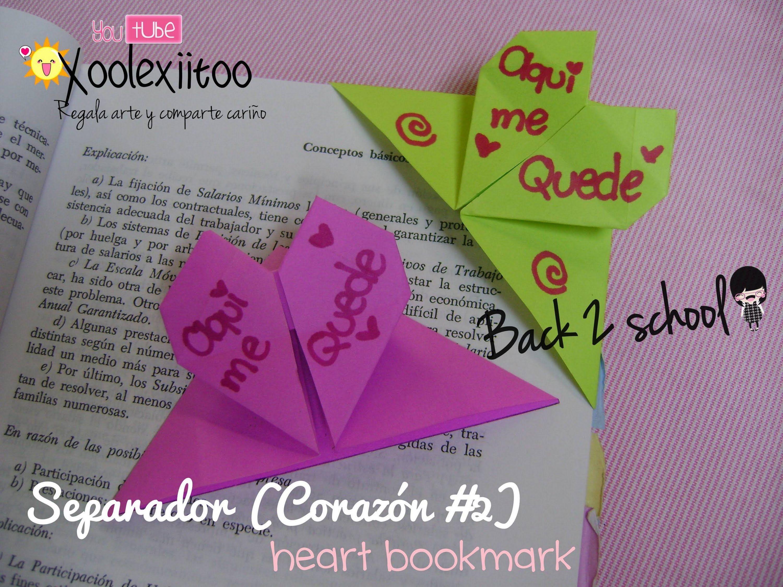 Xoolexiitoo B2s Separador De Corazon Origami Heart - Origami-corazn