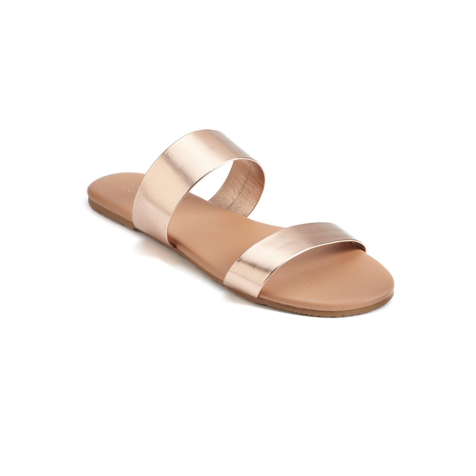 LC Lauren Conrad Platform Wedge Sandals - Women