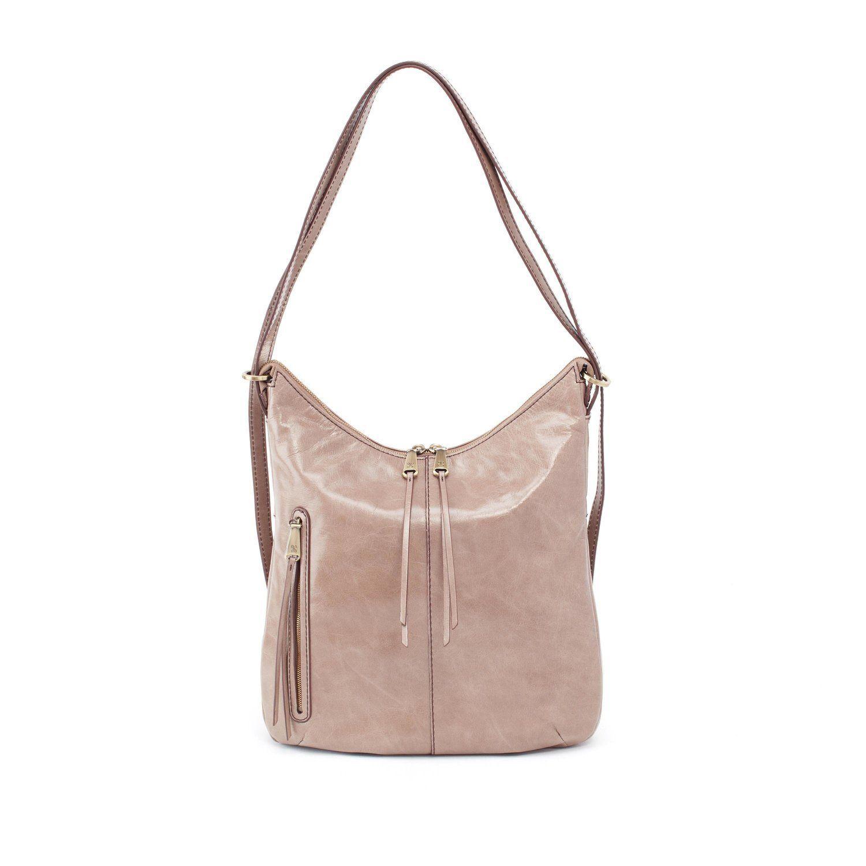 4814d0d72b HOBO Merrin Convertible Bucket Backpack- Ash
