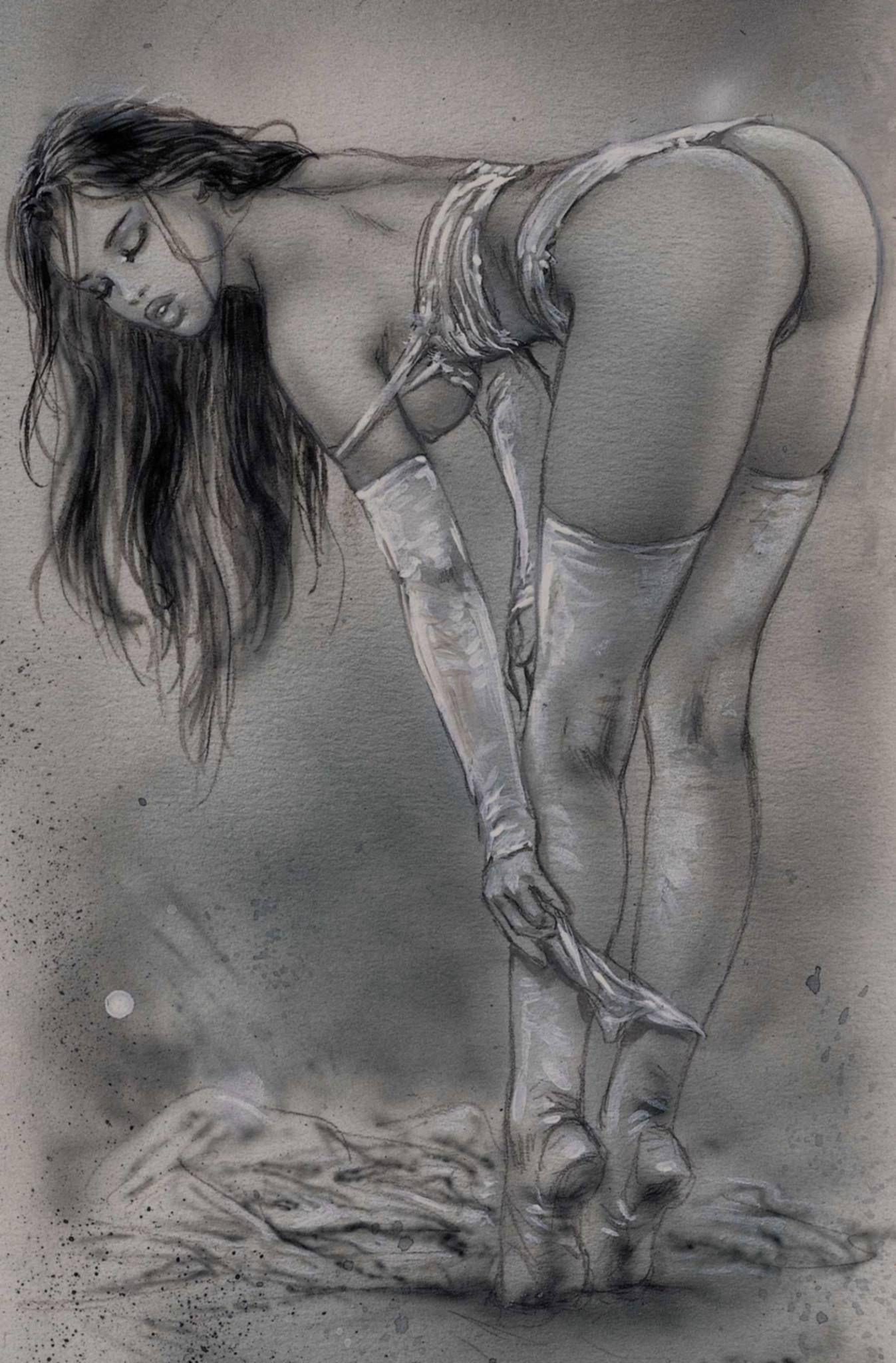 Erotic fantasy sex drawing 9