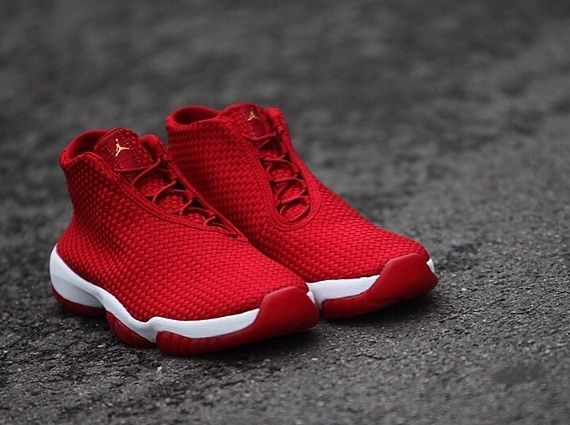 jordan future all red