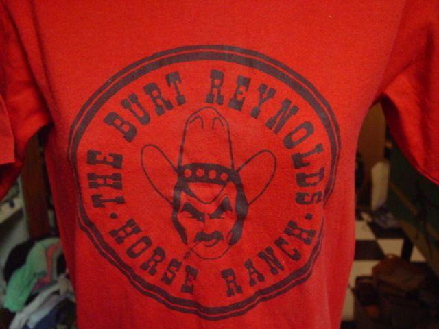 Burt Reynolds T shirt; 1970s Burt Reynolds Tee Shirt