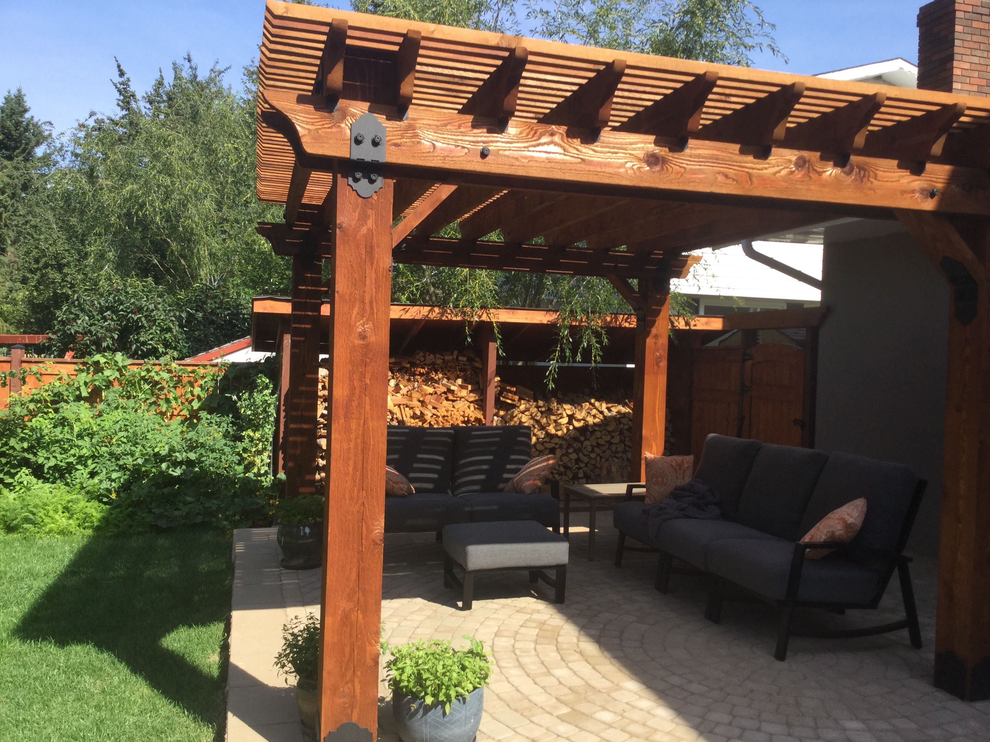 Building Your Own Patio you can build your own #owtstanding pergola with help from ozco