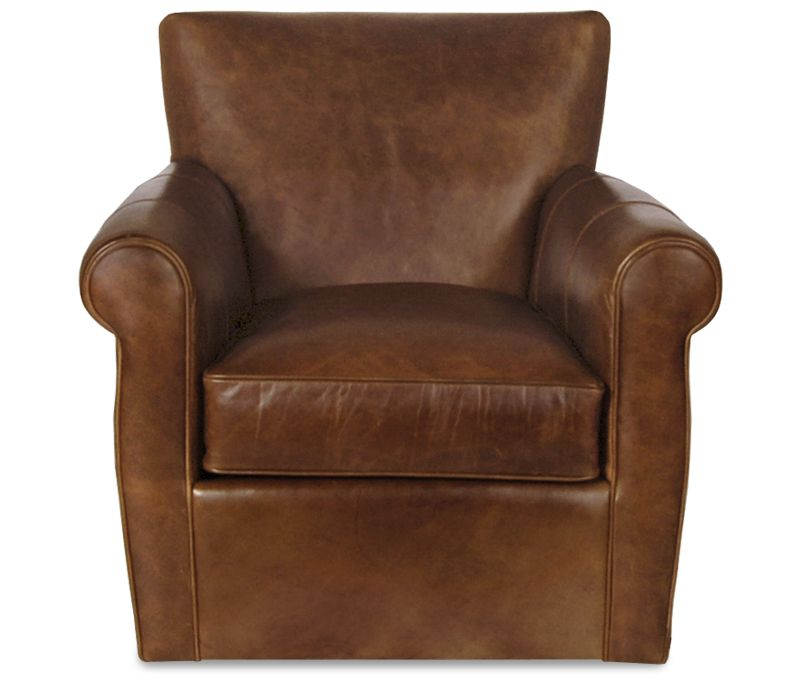 Boston Interiors Vincent Swivel Glider The Comfort And Luxury Of A Leather  Club Chair Meets The Pleasure Of A Swivel Glider Upholstered In An Amaretto  Top ...