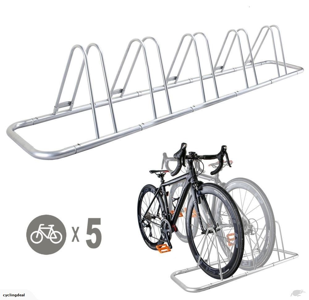 1 5 Bike Floor Parking Rack Storage Stand Bicycle Trade Me Indoor Bike Storage Indoor Bike Rack Bike Storage