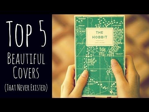 Top 5 Beautiful Book Covers (That Never Existed)