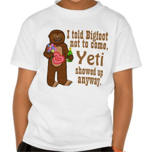 Funny Bigfoot Pun T-shirt Funny Bigfoot Pun T-shirt $21.55 ...