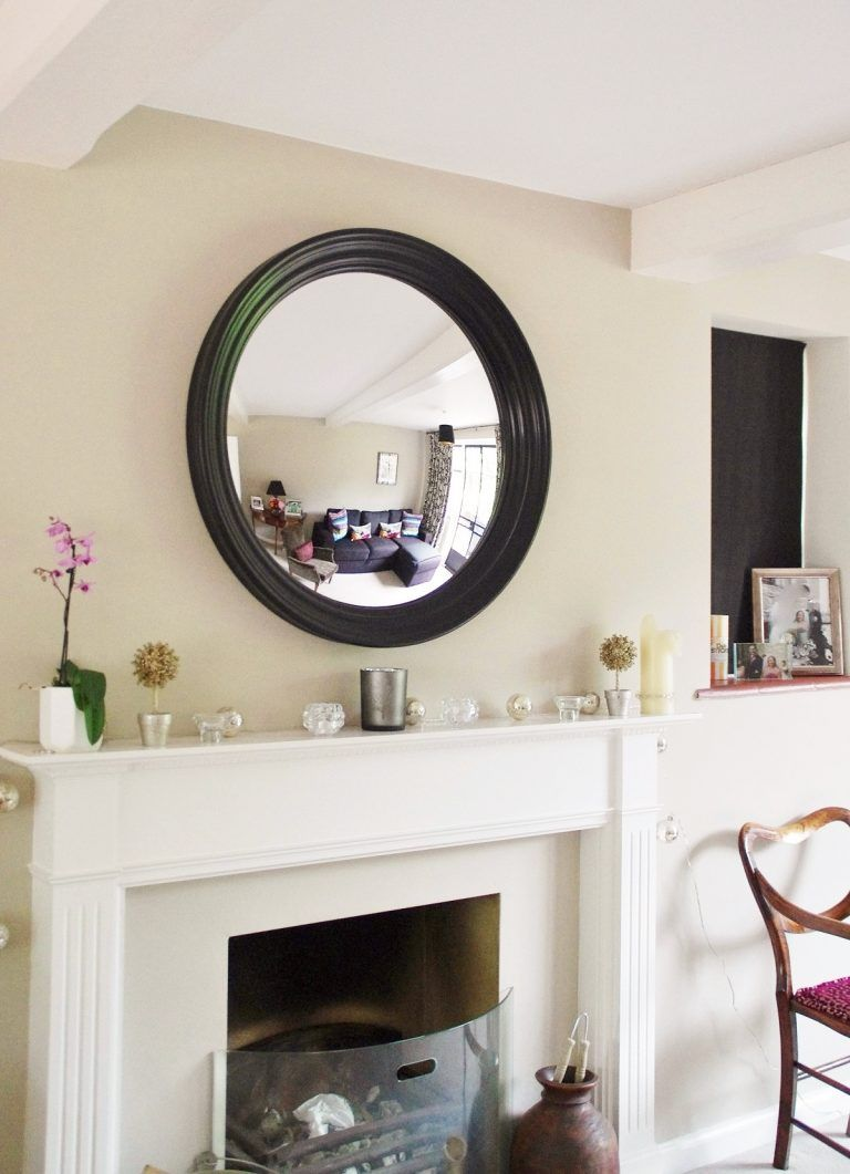 Decorative Mirrors For Above Fireplace.Large Round Convex Mirror In 2019 Mirror Above Fireplace