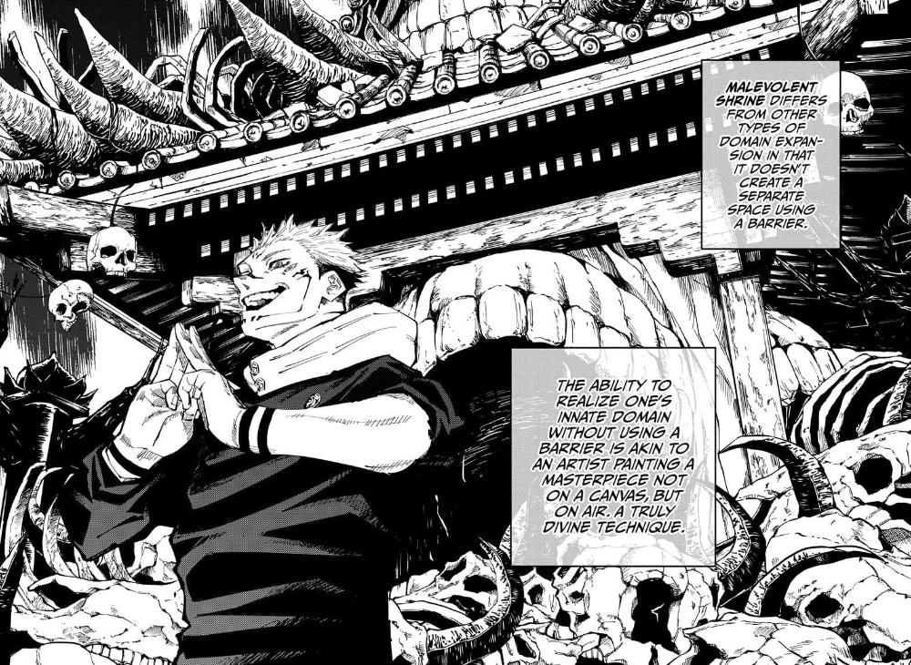 Jujutsu Kaisen Chapter 119 Jujutsu Manga Anime Wall Art