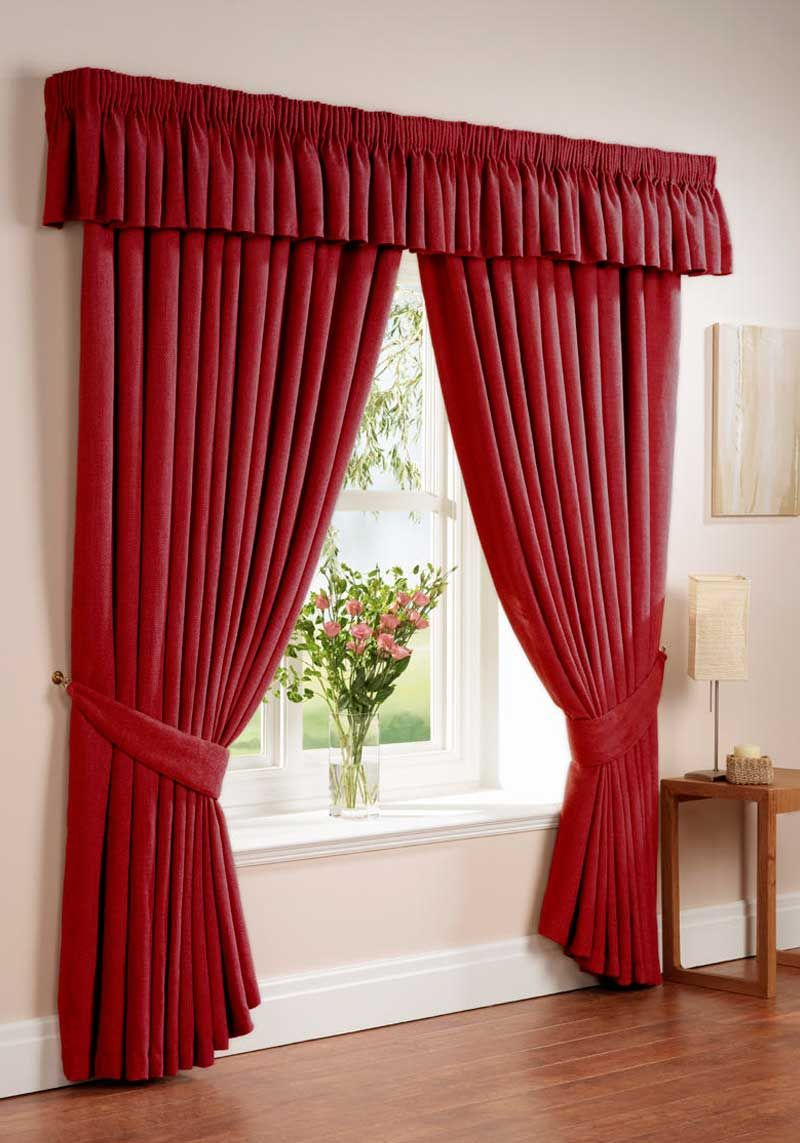Cortinas Colo Rojo Vino Curtain Designs For Bedroom Curtains Living Room Home Curtains