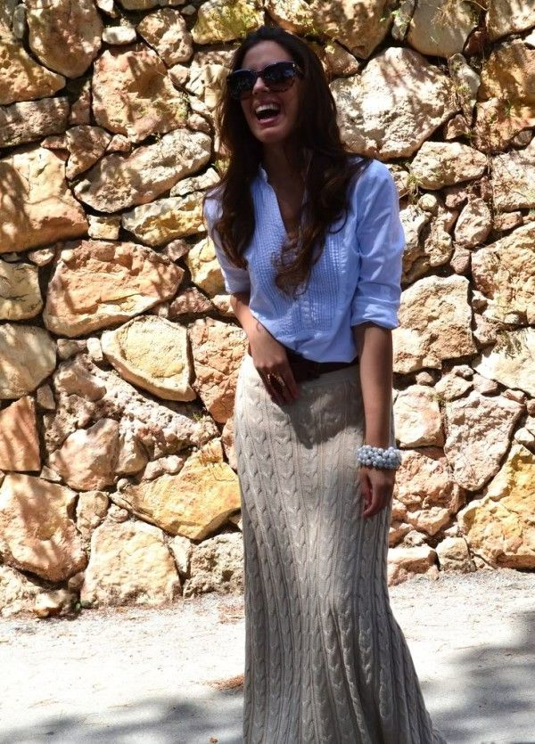 "I love this maxi ""cable knit sweater"" style. SOOO cute!"