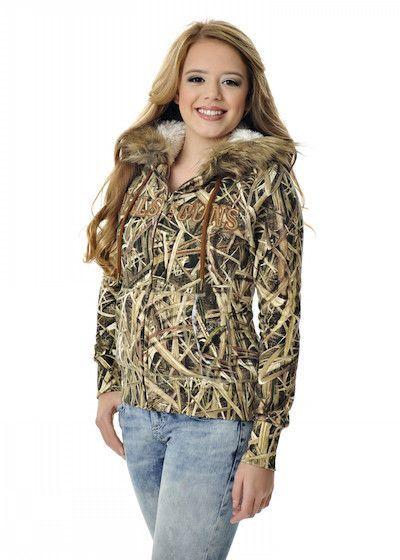 ba5276bd69d Girls With Guns Clothing Fur Hoodie - Mossy Oak Blades®