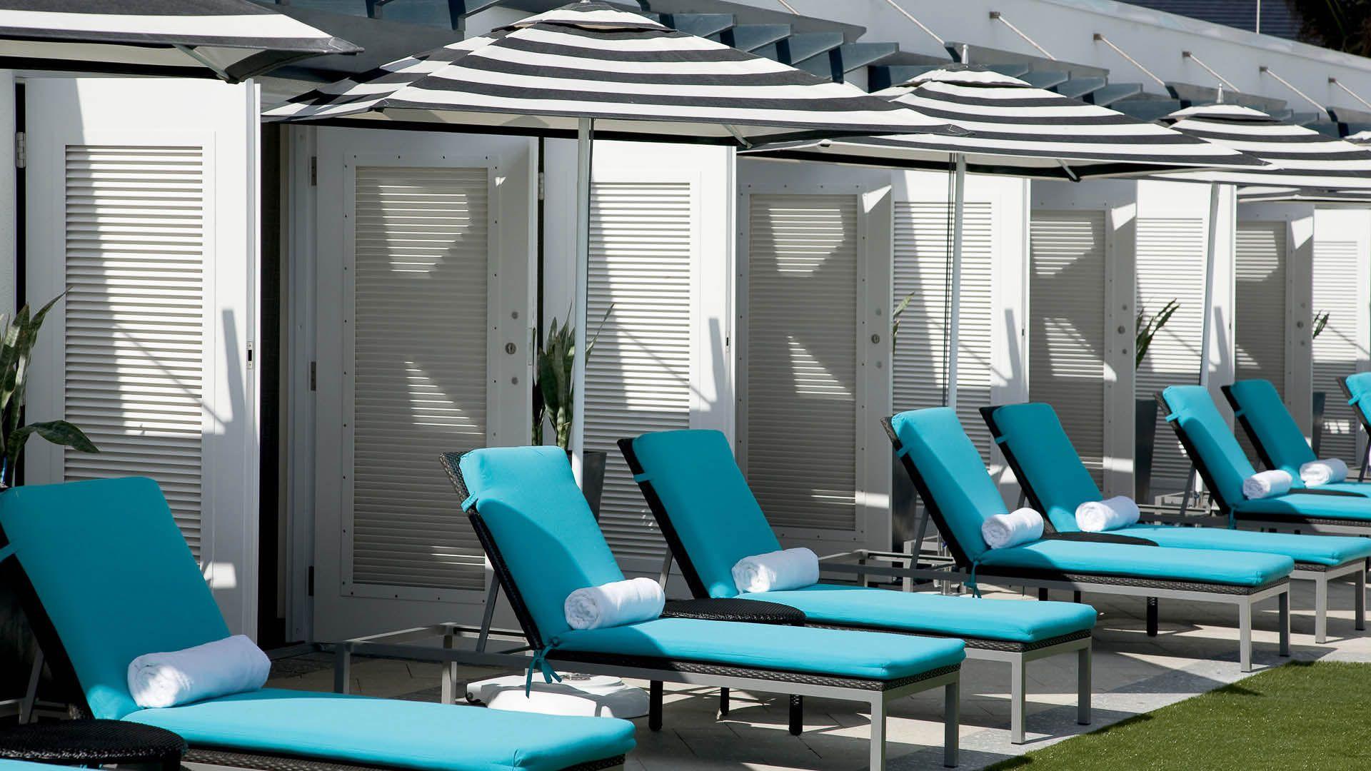 Boca Beach Club Chaise Lounge Chairs Pool Deck Pool