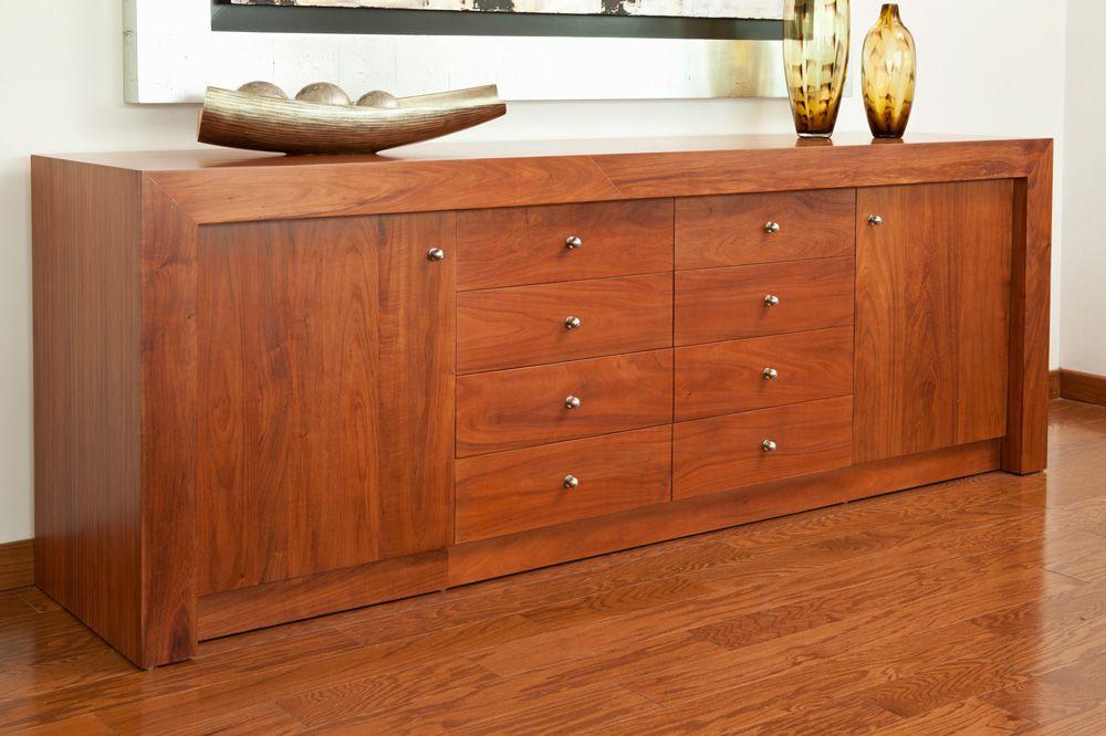 Bufetero elaborado en caoba bufeteros muebles muebles de comedor y muebles living - Aparadores de cocina modernos ...