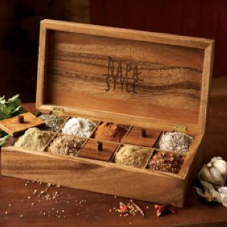 Salt and spice box from napastyle