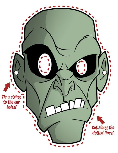 printable mask Zombies Pinterest Printable masks, Masking - face masks templates