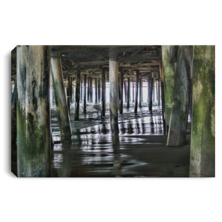 Canvas print under pier 1 by joe lach canvas prints